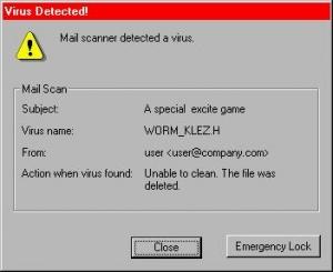 Worm Virus (sumber: Google)