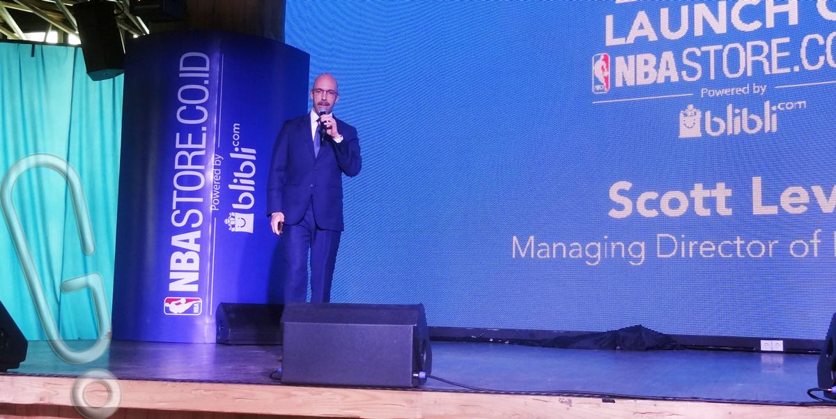Managing Director NBA Asia, Scott Levy (foto: GEnmuda.com/2015 Liki)