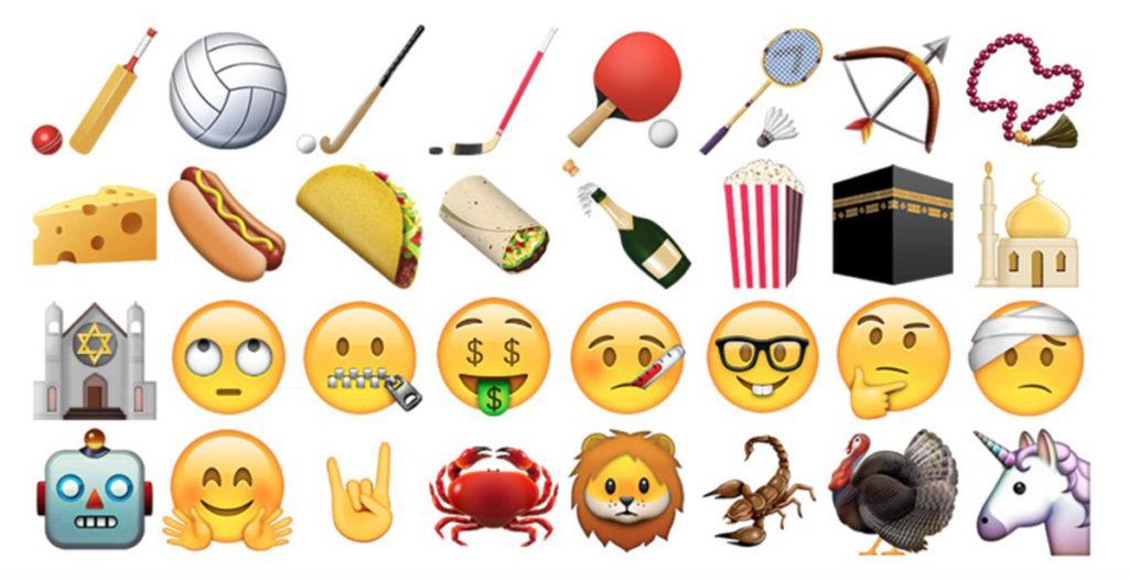 ilustrasi emoji terbaru di iOS (c) engadget
