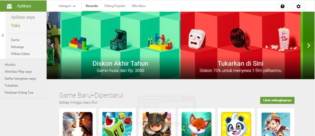 Google Play Store Promo Akhir Tahun