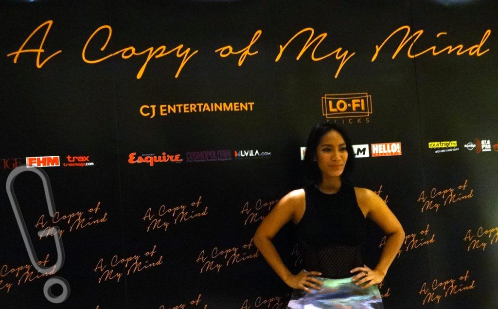 Tara Basro di acara jumpa pers 'A Copy of My Mind' di Plaza Indonesia XXI, Rabu (3/2) (Foto: Genmuda.com/2016 Gabby)