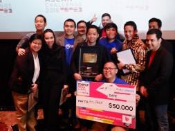Ahlijasa.com Bersama Sandiaga Uno dan CEO Fenox VC, Anis Uzzaman pada Grand Final Startuppedia ASEAN Challenge 2016