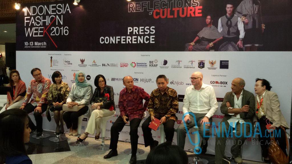 Konferensi pers IFW 2016 di JJC, Kamis (10/3) (Foto: Genmuda.com/2016 Gabby)
