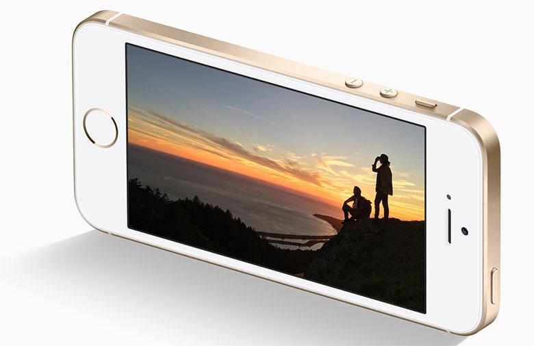 iPhone SE Gold (c) Apple