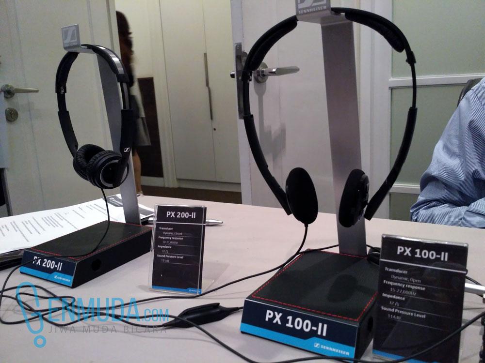 Sennheiser PX 200-II dan PX 100-II (Sumber: Genmuda.com/2016 Liki)