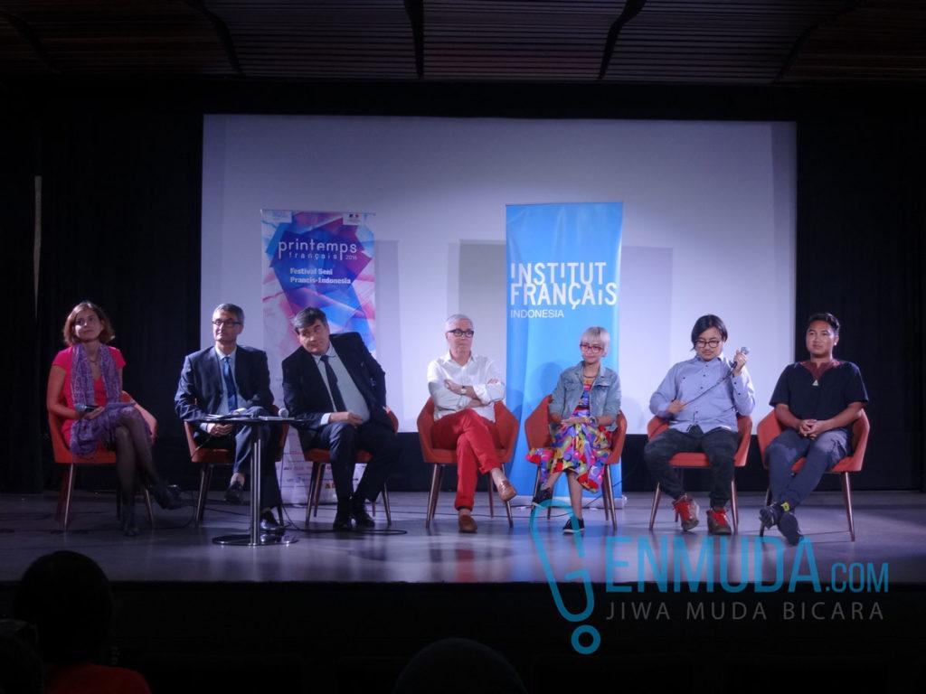 Konferensi pers Printemps Français 2016 di Auditorium IFI Jakarta, Rabu (20/4) (Foto: Genmuda.com/2016 Gabby)