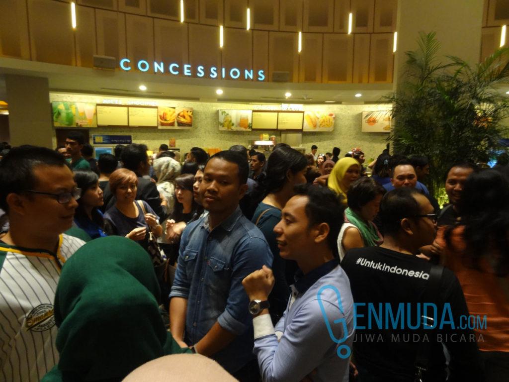 Suasana Epicentrum XXI jelang penayangan 'Indonesia Kirana', Jumat (6/5) (Foto: Genmuda.com/2016 Gabby)