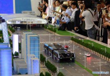 bus ngangkang transit elevated bus 2