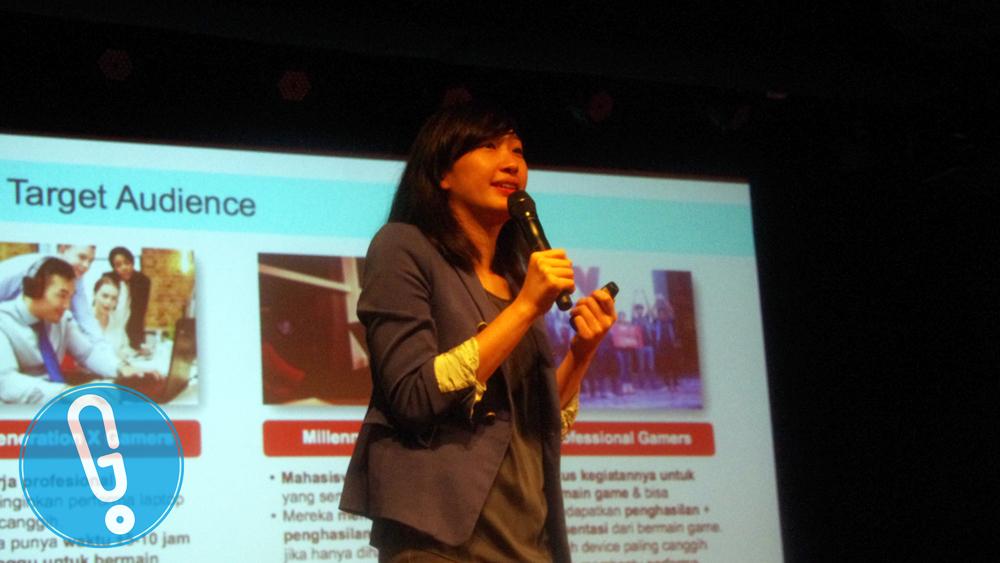 Christy Candlestine Susastra, Product Marketing Manager Lenovo Indonesia (foto: Genmuda.com/2016 Charisma)