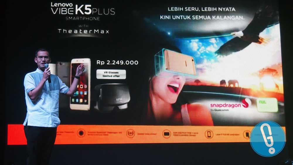 Adrie R Suhadi, Country Lead, Mobile Business Group Lenovo Indonesia (Foto: Genmuda.com/2016 Liki)