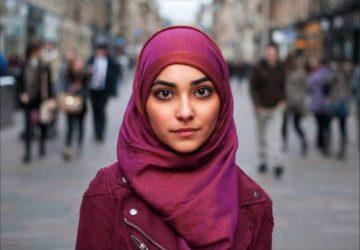 hijab girl plain