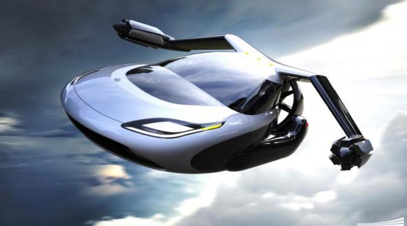 terrafugia mobil terbang