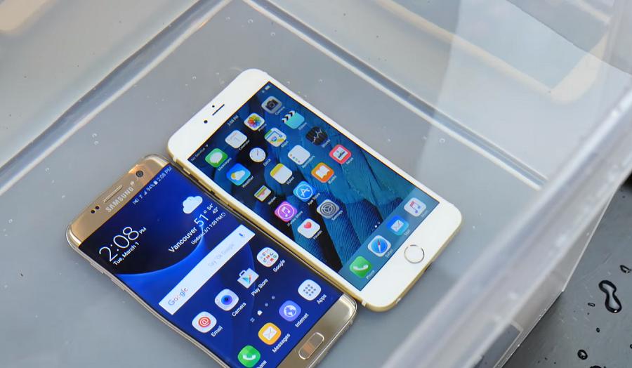 iPhone 6s adu tahan nafas lawan Galaxy S7 (c) iphonehacks