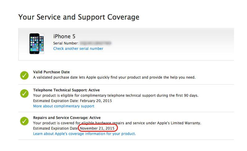 hasil ngecek di laman resmi apple (c) MakeMac