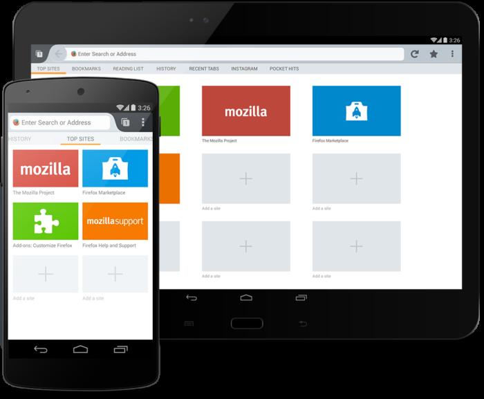 Firefox adalah salah satu web browser terbaik untuk Android