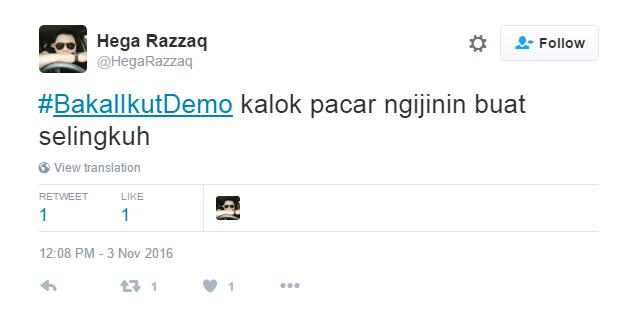 via twitter @Hegarazzaq