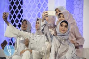 vivo selfie foto selfie hijab