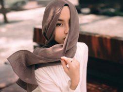 tajima uniqlo hijab cantik cewek islam