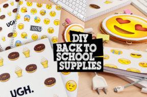 DIY back to school supplies 2