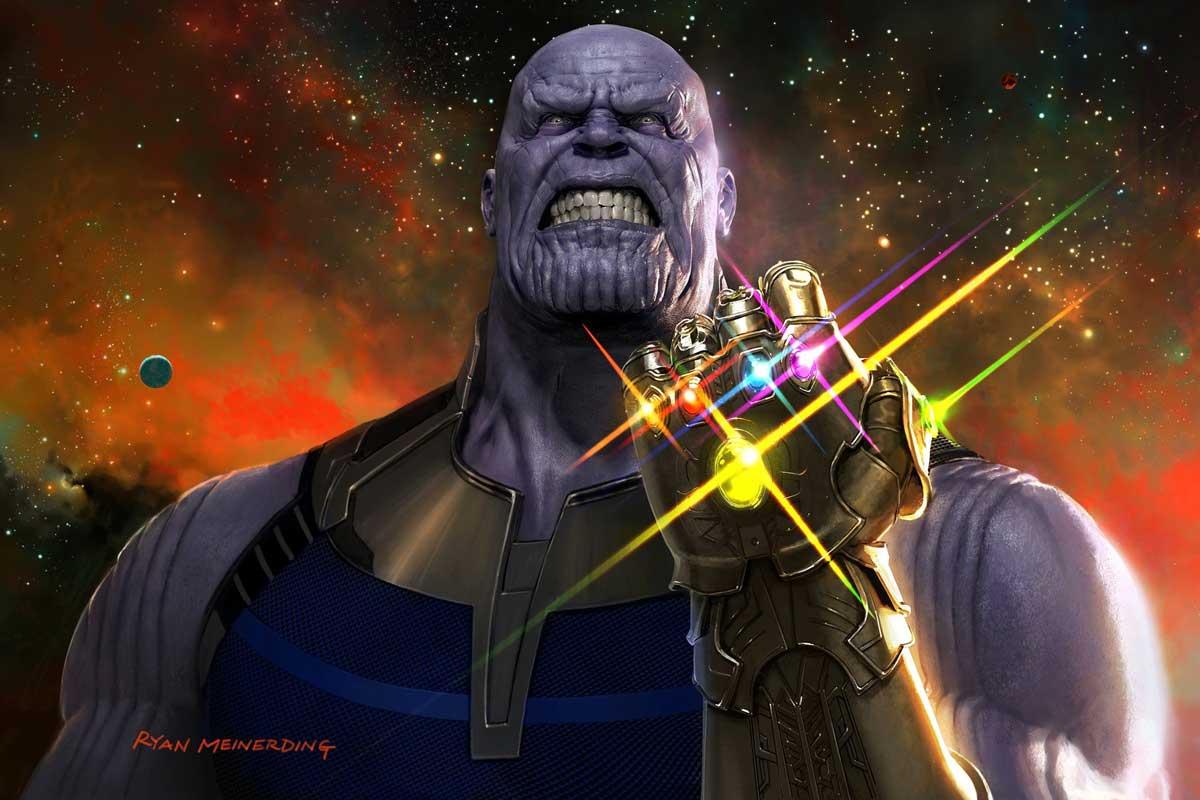 Identitas dan pemilik infinity stone di 39 the avengers - Gambar thanos ...