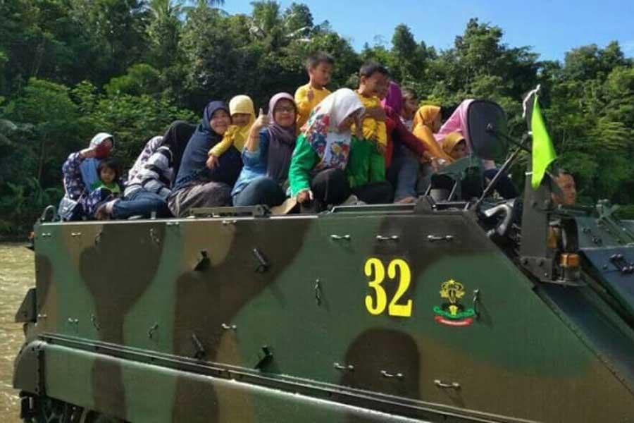 Tank Amfibi Ma Indonesia Tenggelam Di Sungai Kok Bisa